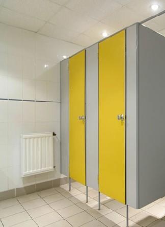 Туалетные сантехнические перегородки